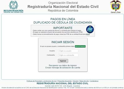 www.registraduria.gov.co citas por internet